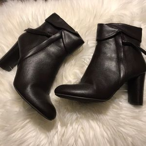 Leather Heeled Boots.